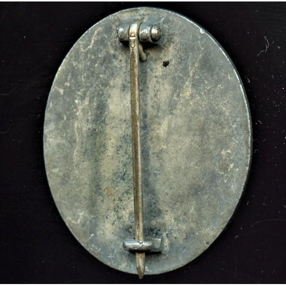 """Wound badge in silver by Steinhauer & Lück """"integral 4"""""""