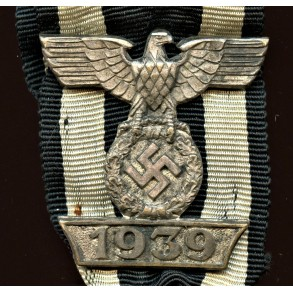 1914 Iron cross 2nd class combo with 1st pattern clasp by Sy Wagner and C.E. Juncker Berlin