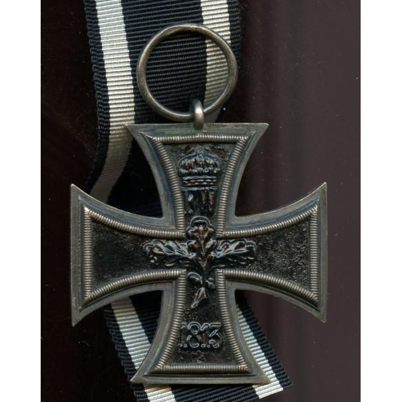 "WW1 Iron cross 2nd class by maker ""S-W"""