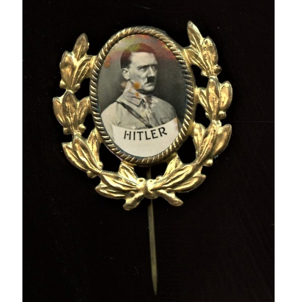 Adolf Hitler early election / sympathizer pin