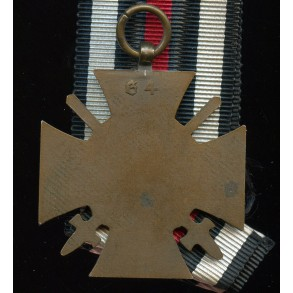 """1914-1918 Honour cross with swords by """"G4"""""""