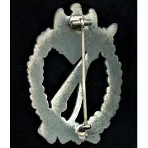 Infantry assault badge in silver by Gustav Brehmer
