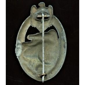 "Panzer Assault Badge in bronze by Hymmen & Co ""L/53"""