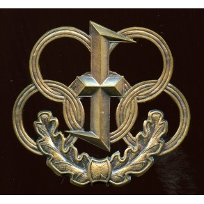 Flemish collaboration parties sport badge in bronze
