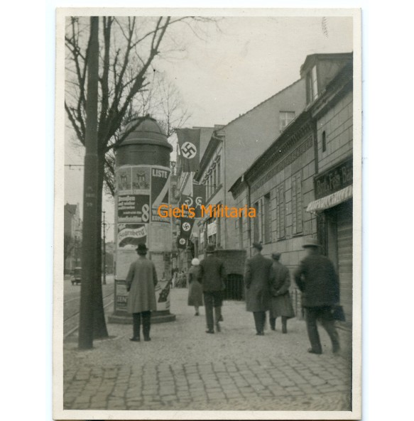 Private photo election day Berlin Mariendorf jan. 1933
