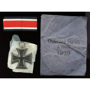 """Iron cross 2nd class by Friedrich Orth """"15"""" + package"""
