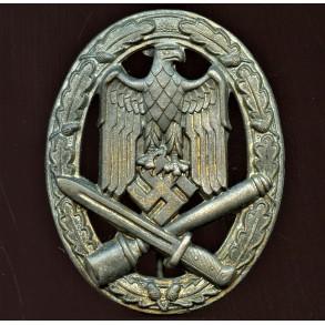 General assault badge (in bronze) by P. Meybauer
