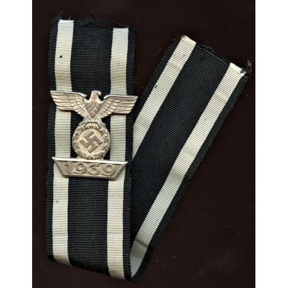 Iron cross clasp 2nd class by B.H. Mayer