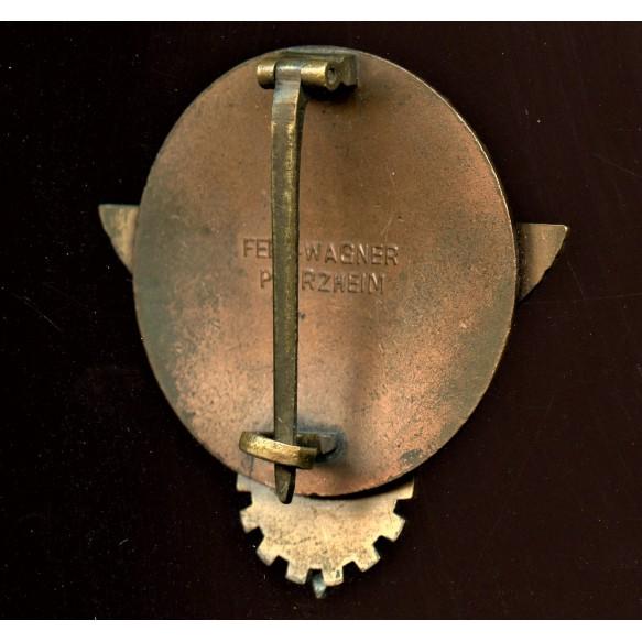 1939 HJ Kreissieger badge by Ferd. Wagner