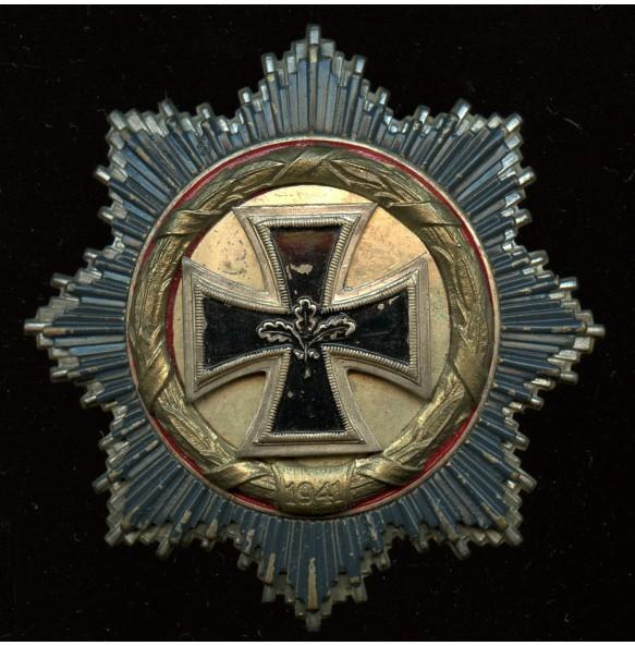 1957 German cross in gold by Steinhauer & Lück