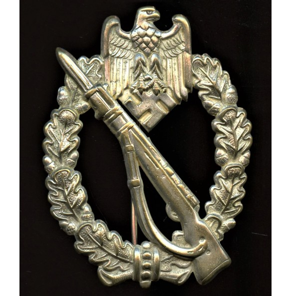 Infantry Assault Badge in silver by Otto Schickle