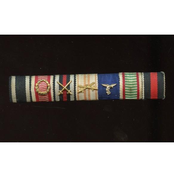 Long service ribbon bar for Luftwaffe officer