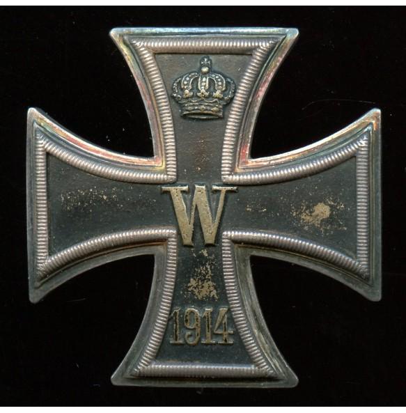 "WW1 Iron cross 1st class by unknwon maker ""800"""