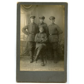 1914-1918 period studio portrait photo, Russia 1916