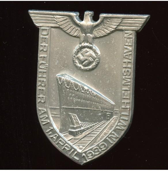 """Tinnie """"Der Führer in Wilhelmshaven 1939"""", RZM M1/35"""