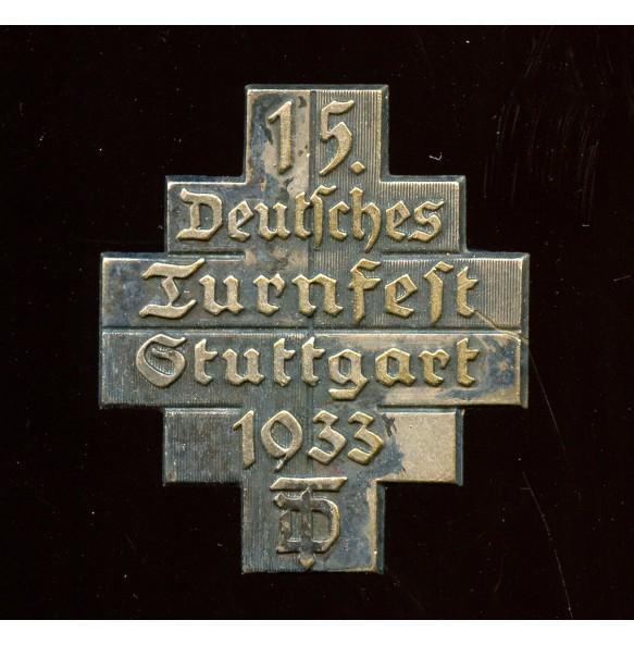 """Tinnie """"Deutsches Turnfest Stuttgart 1933"""" by A. Schnauffer"""