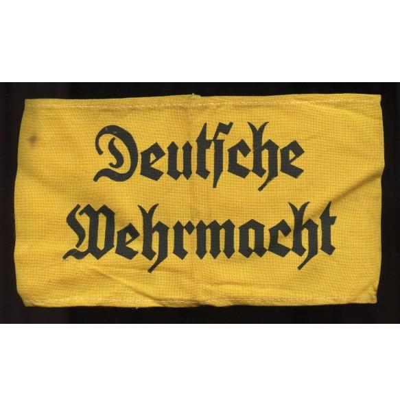 """Armband """"Deutsche Wehrmacht"""""""