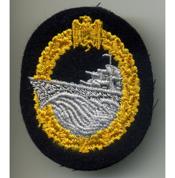 Destroyer badge in cloth