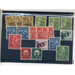 Stamp collection Third Reich