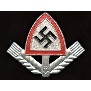 "RAD cap badge by ""MKO"" 1937"