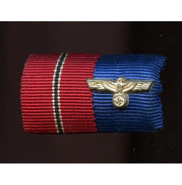 Ribbon bar ast front medal 4 year service