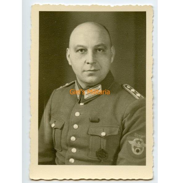Portrait photo Polizei Hauptwachtmeister from Speyer