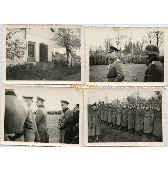 Series of 5 photos higher command award ceremony 1940