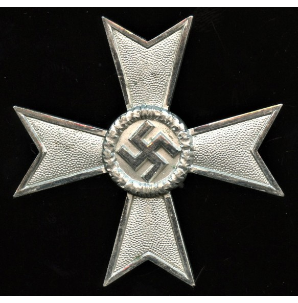"""War Merit Cross 1st class w/o swords by Karl Gschiermeister curved maker mark """"50"""" MINT"""