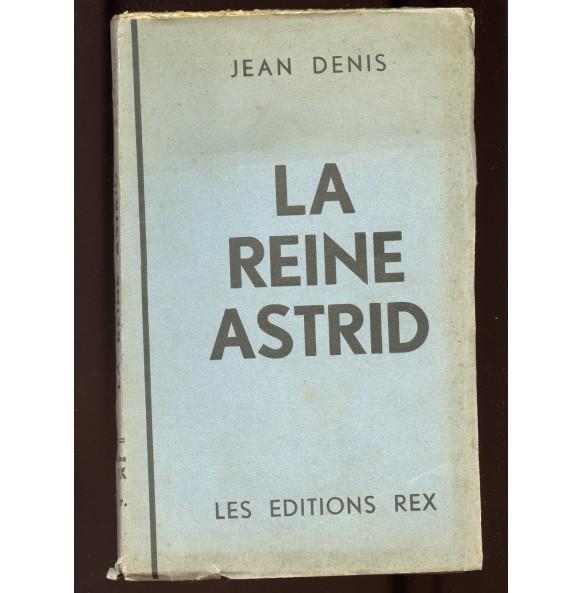 """Period book: """"La Reine Astrid"""" Edition REX 1935"""