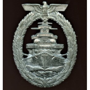 Kriegsmarine high sea fleet badge by A. Rettemaier