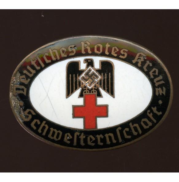 "DRK ""Schwesternschaft"" membership pin Königsberg ""177"" by A. Stübbe"