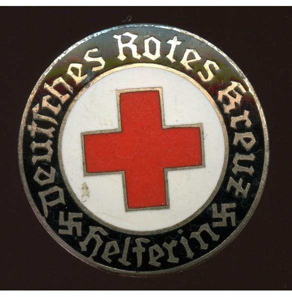 "DRK Red cross ""Helferin"" membership pin"