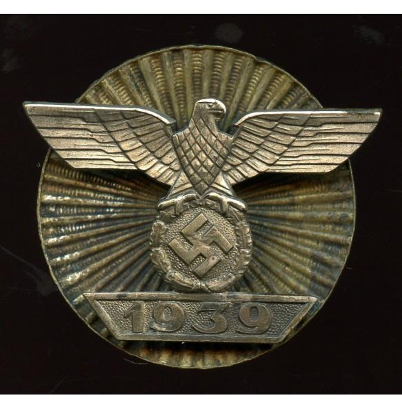 Iron cross 1st class iron clasp by Wilhelm Deumer