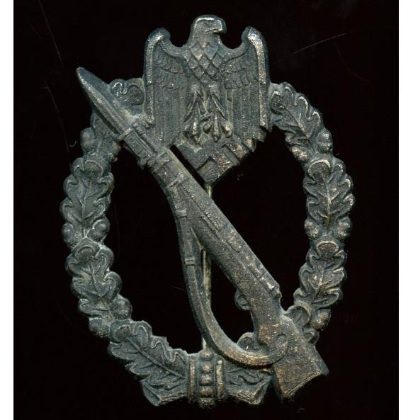 "Infantry assault badge in silver by Gebr. Wegerhoff ""GWL"""