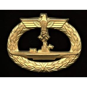 Kriegsmarine U-boat badge by Wilhelm Deumer
