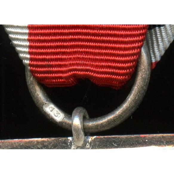 """Iron cross 2nd class by Gustav Brehmer """"13"""" MINT"""