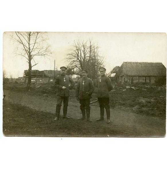 Private photo EKII award ceremony in 1916