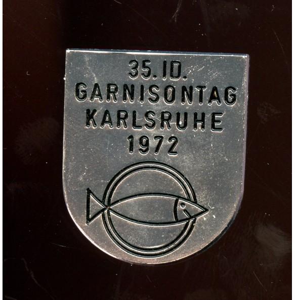 35. Infanterie Division Garnisontag Karlsruhe 1972