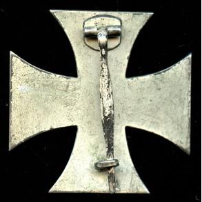 1914 Iron cross 1st class by W. Deumer
