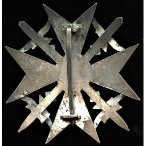 Spanish cross in silver with swords by Petz & Lorenz