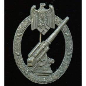 Army flak badge by Gustav Brehmer