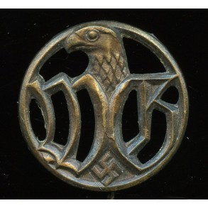 """""""Wehrmachtsgefolge"""" Armed forces auxiliary helpers stickpin by C.E. Juncker"""