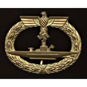 """Kriegsmarine U-boot badge by Paul Meybauer """"L/13"""""""