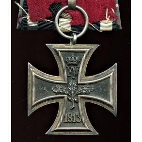 1870 Iron cross 2nd class single mounted