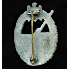 Kriegsmarine coastal artillery badge by Hermann Aurich