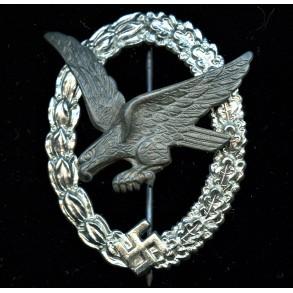 "Luftwaffe airgunner badge by Berg & Nolte ""B&N L"""