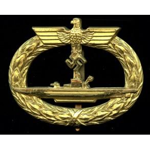 Kriegsmarine U-boat badge by Schwerin Berlin