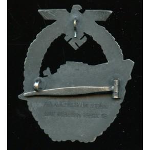 Kriegsmarine E-boat badge by Schwerin Berlin