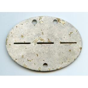 ID disc Inf Reg 47, early aluminium