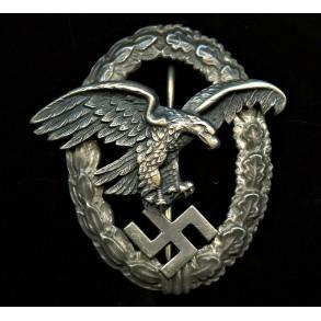"""Luftwaffe observer badge by F.W. Assmann """"A"""""""